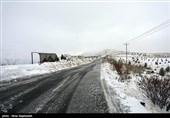 تداوم سرما و کولاک برف تا عصر جمعه/بارش برف استان اردبیل را فرا گرفته است