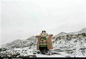 سپیدپوشی ارتفاعات جنوبی مشهد/ چه شاد باشی از این خوبتر که برف آمد+ تصاویر