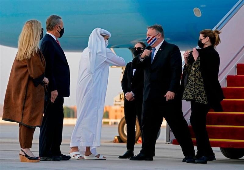پامپئو متعهد شد تا «فشار حداکثری» بر ایران را حفظ کند