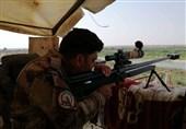 درگیری شدید حشد شعبی و داعش در کرکوک/ مجروح شدن چهار رزمنده الحشد