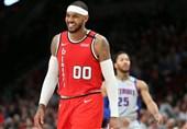 لیگ NBA  آنتونی در بلیزرز ماندنی شد