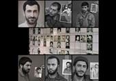 بازیگران سریال شهید باکری گریم شدند + عکس