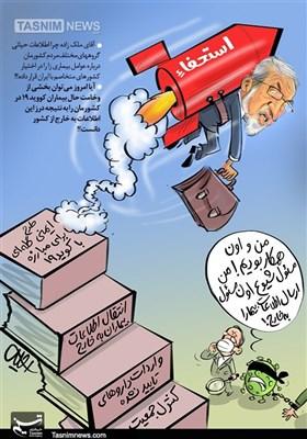 کاریکاتور/ فرار «ملکزاده» از پاسخگویی عملکرد خود!