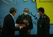 سردار تنگسیری از فرمانده سپاه امام صادق(ع) استان بوشهر تجلیل کرد