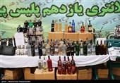 کشف 622 شیشه مشروبات الکلی در شرق تهران + تصاویر