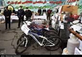 تهران  سارق جوان با زن و بچه به سرقت میرفت!