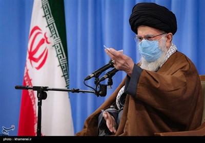 الإمام الخامنئی: العقوبات جریمة ارتکبتها أمریکا وشرکاؤها الأوروبیون ضد الشعب الإیرانی