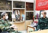 دیدار رئیس سازمان تربیت بدنی ارتش با رئیس سازمان ورزش بسیج مستضعفین