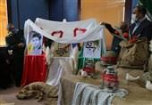 3 کتاب دفاع مقدس به مناسبت هفته بسیج در زنجان رونمایی شد + تصویر