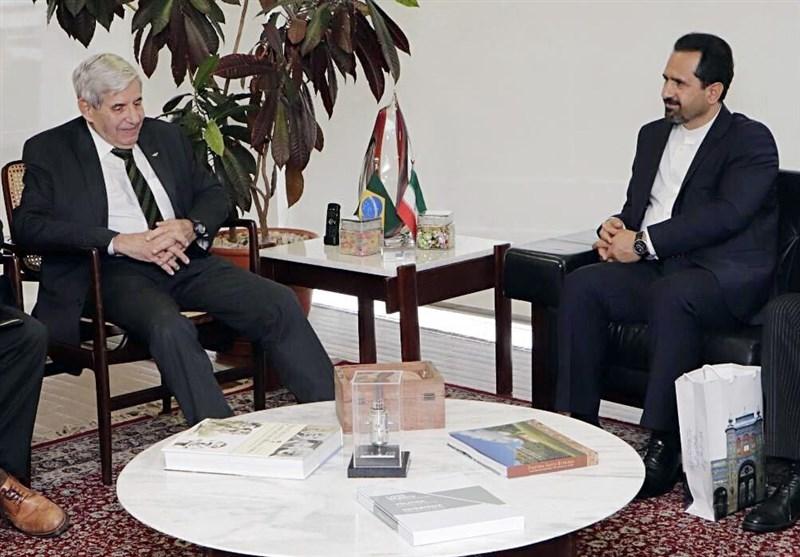 ایران و برزیل بر توسعه مناسبات تجاری در دوره پساکرونا تاکید کردند