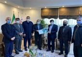 دیدار صالحیامیری با رئیس سازمان بسیج ورزشکاران