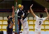 لیگ برتر والیبال| تیم آذرباتری ارومیه با درخشش خود تیم پرقدرت هزار آمل را از پیش رو برداشت