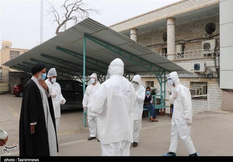 دیدار نماینده ولی فقیه دراستان خوزستان با جهادگران عرصه سلامت اهواز + تصاویر