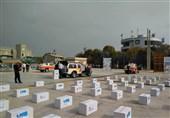 اهدای 400 بسته مواد غذایی در چهارمین مرحله از کمکهای مؤمنانه آتشنشانان تهران