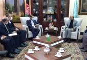 دیدار سخنگوی وزارت خارجه با مقامات بلندپایه افغانستان