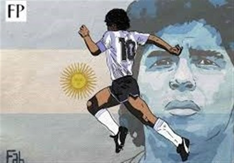 یک دقیقه سکوت در دیدارهای هفته پنجم لیگ برتر فوتبال به یاد مارادونا