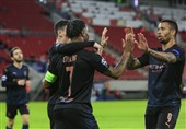 لیگ قهرمانان اروپا| منچسترسیتی به یکهشتم نهایی رسید/ مونشنگلادباخ با پیروزی قاطعانه به صعود نزدیکتر شد