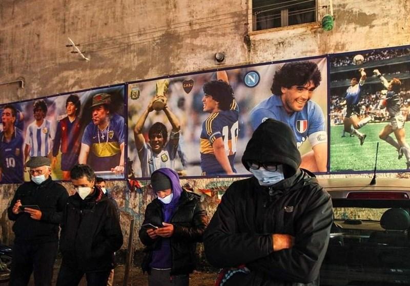 دیگو آرماندو مارادونا , تیم فوتبال ناپولی ایتالیا , فوتبال ,