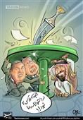 کاریکاتور/ گزینه «قدس2» روی میز نشست شیاطین!