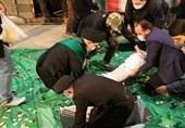 پیکر 6 شهید گمنام دفاع مقدس در قم به خاک سپرده شد