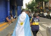 یادداشت اختصاصی خبرنگار آرژانتینی برای تسنیم/ اندوه ملی برای مارادونا؛ ادای احترام به بزرگترین نماد ورزشی + تصاویر