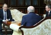 دیدار لاوروف با رئیس جمهوری بلاروس و تأکید بر حمایت روسیه