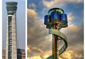بلندترین برج های کنترل ترافیک هوایی جهان!