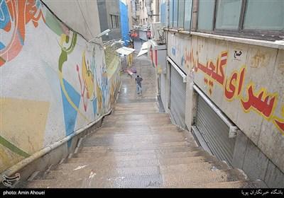 تعطیلی دوهفته ای شهر تهران -بازار بزرگ تجریش
