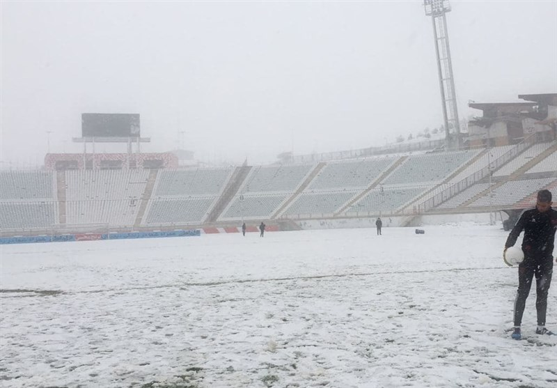 Tractor-Sepahan Match Postponed Due to Heavy Snow