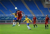 لیگ برتر فوتبال| تساوی شهر خودرو و صنعت نفت در 45 دقیقه نخست