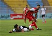 لیگ برتر فوتبال| نفت مسجدسلیمان و پرسپولیس با تساوی به رختکن رفتند