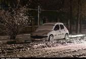 بارش نخستین برف پاییزی در آذربایجان شرقی به روایت تصویر