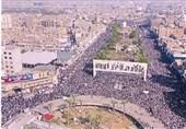 برگزاری نماز وحدت طرفداران صدر در بغداد