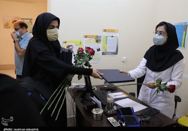 تقدیر اصحاب رسانه کیش از مدافعان سلامت+ عکس