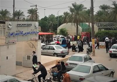 غلغله جمعهبازار اهواز دیوار به دیوار قبرستان/آیا شهرداری اهواز مصوبات ستاد مقابله با کرونا را جدی نگرفته است؟+ تصاویر