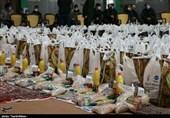 10500 بسته معیشتی میان نیازمندان شهرستان کوهرنگ توزیع شد