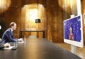 کنفرانس ویدئویی صدر اعظم اتریش و رئیس کمیسیون اروپا با محوریت کرونا