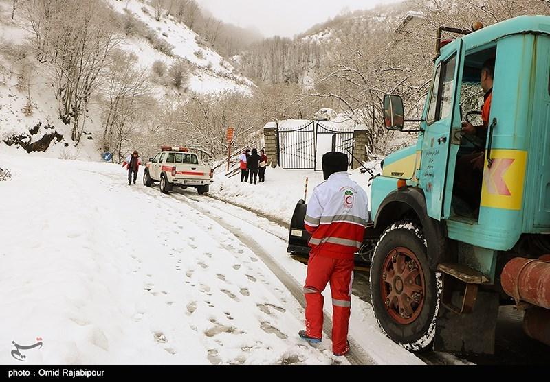 هواشناسی ایران 99/9/8| بارش برف و باران در 25 استان/ سامانه بارشی جدید در راه است
