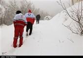 امداد رسانی به 92 نفر گرفتار در برف و کولاک اردبیل انجام شد