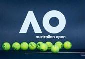تلاش برای تمرین شرکتکنندگان تنیس آزاد استرالیا در قرنطینه