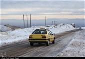 """تردد در محورهای کوهستانی استان کردستان تنها با """"زنجیرچرخ"""" امکانپذیر است"""