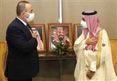 دیدار وزیر خارجه ترکیه با همتای سعودی خود