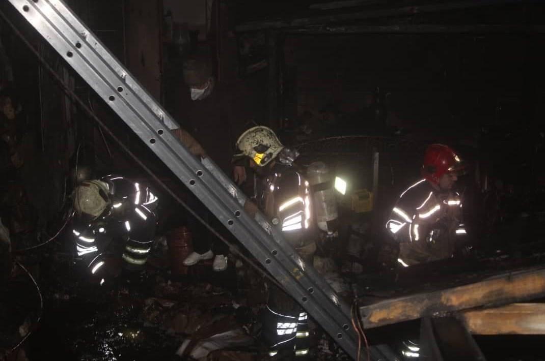 سازمان آتشنشانی تهران ,