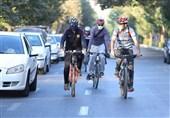 سهم روزانه دوچرخهسواری در تهران چقدر است؟!