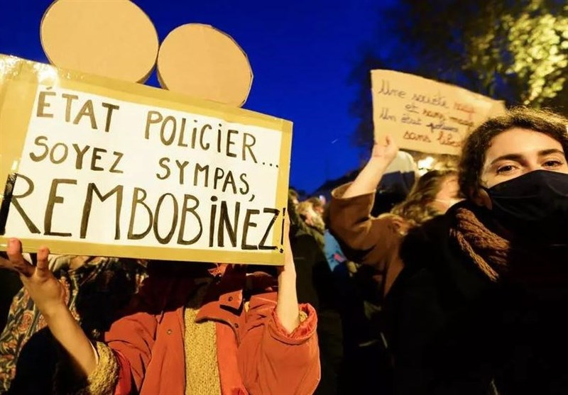 Thousands Protest against Police Images Ban in Nantes (+Video)