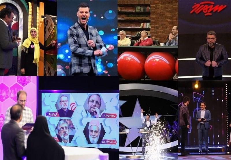 """کپیکارها از مسابقات خارجی در تلویزیون بدون حتی کوچکترین تغییر در خدمتِ سلبریتیها/ وقتی """"رخداد"""" از دکور لاکچری عبور میکند"""
