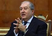رئیس جمهوری ارمنستان به روسیه سفر کرد