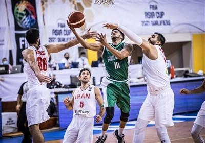 بسکتبال انتخابی کاپ آسیا| پیروزی نه چندان آسان ایران مقابل عربستان/ درخشش یخچالی
