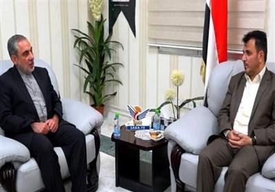 دیدار سفیر ایران با وزیر بهداشت یمن /تخریب بیش از ۴۰۰ مراکز درمانی در تجاوز سعودی