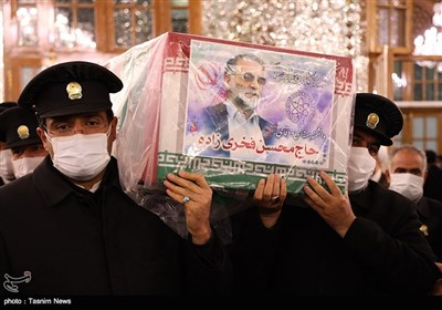 Funeral Procession of Top Iranian Scientist Held in Mashhad